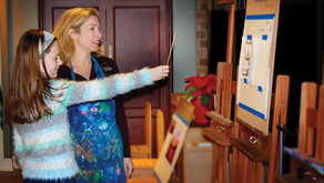UNIQUE IN SUBURBIA | Local Art Studio Owned by Naperville Mom of 5 Kids