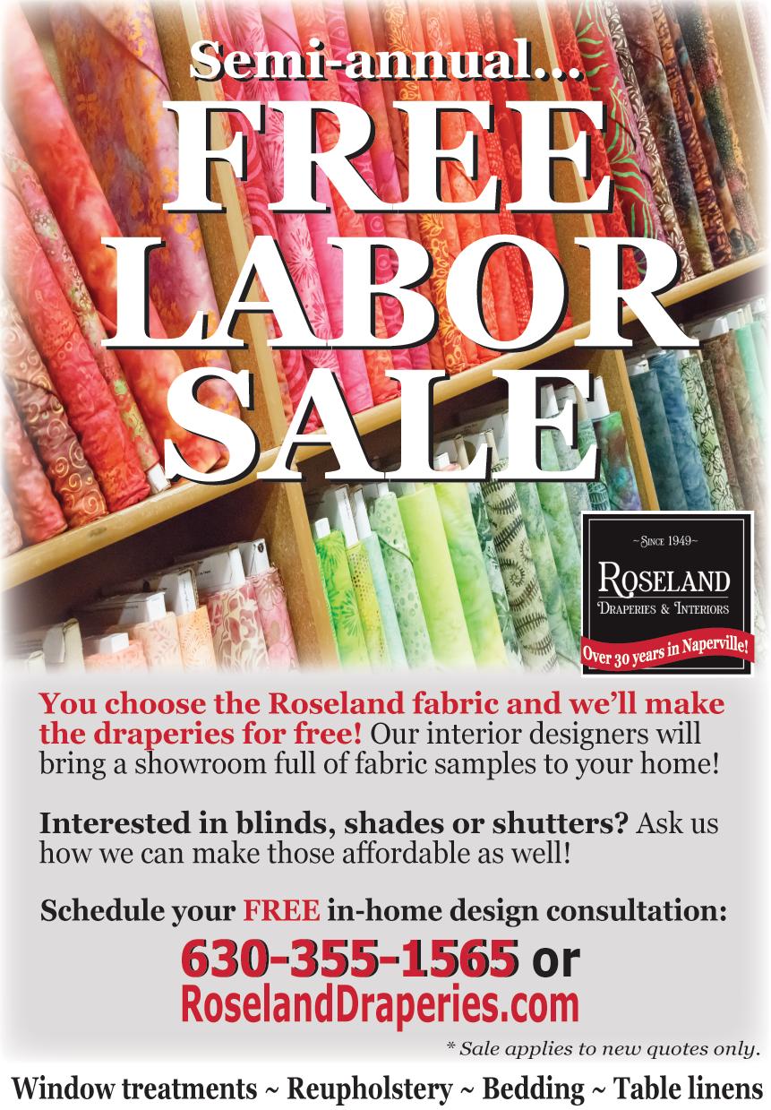 Roseland Draperies, March 18, Glancer Magazine