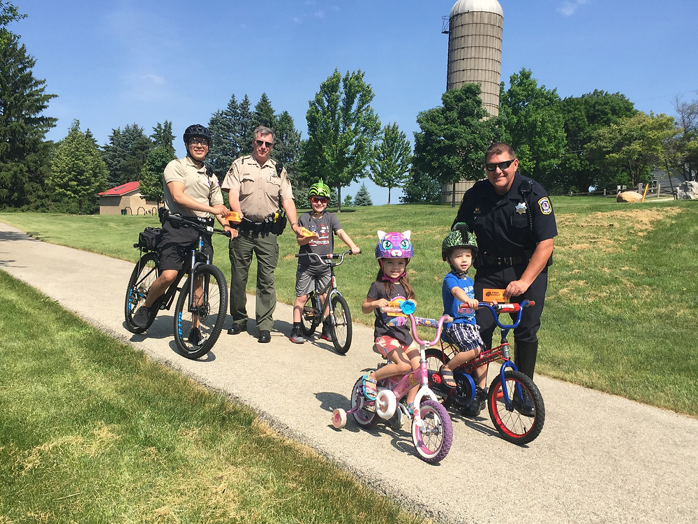 Naperville Police, Naperville Park District, Glancer Magazine