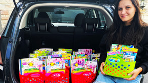 GLANCING THE GALLANT | Oswego Woman Gives a Colorful Gift from the Heart to Students In Need