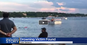 LAKE GENEVA | 35-Year Old Illinois Man Drowns Sunday After Attempting to Swim to Shore