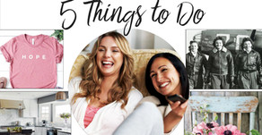 5 THINGS TO DO ONLINE | April 2020