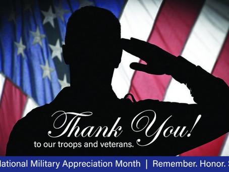 We appreciate!