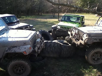 ESJA Jeep tire crawling