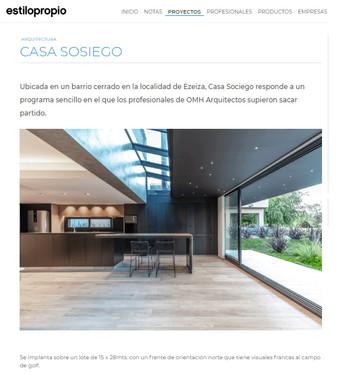 Casa Sosiego