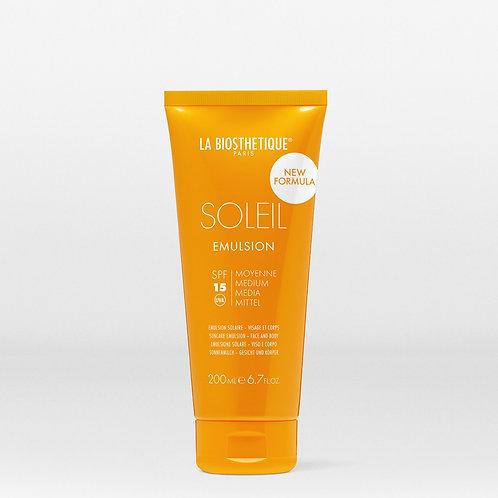 Emulsion Solaire SPF 15