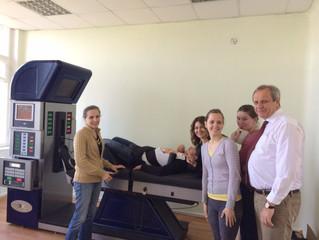 14.06.16 установлен аппарат DRX9000 в Институте экспериментальной медицины г. Санкт-Петербург