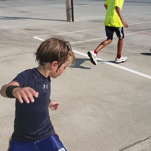Footwork drills!