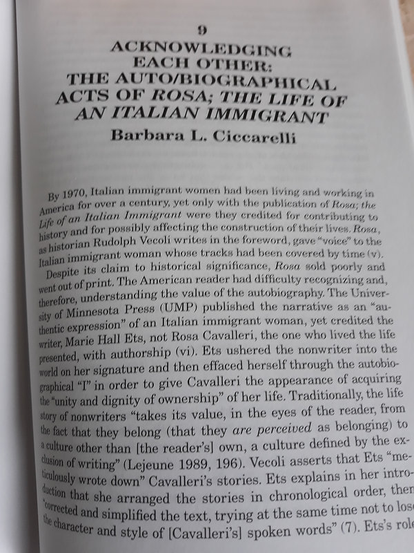 Published Sample Essay | Ciccarelli publication | sample publication