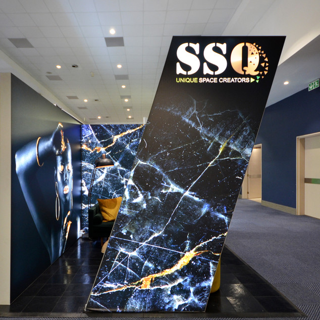 SSQ Design at EOE, 9sqm Fabric Stand