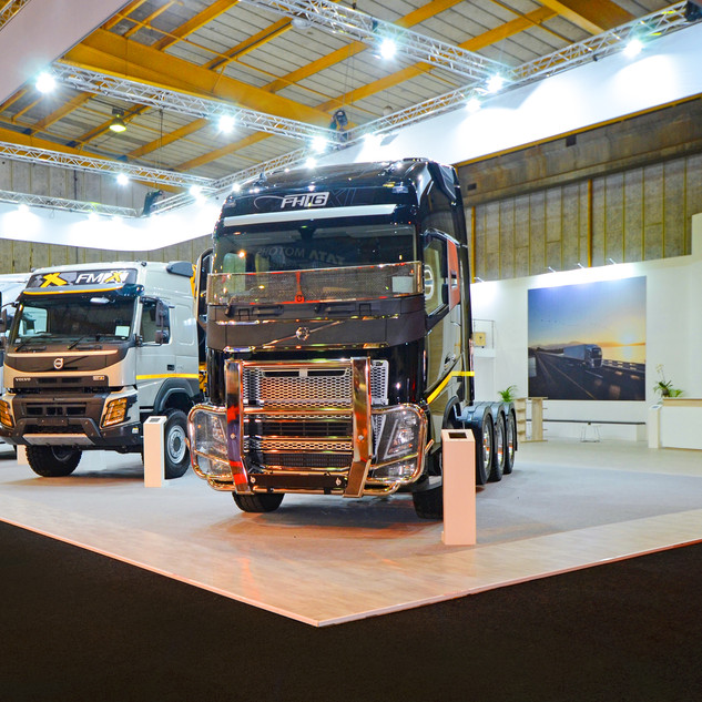 Volvo Trucks at Futuroad Expo, 472.95sqm Custom Stand