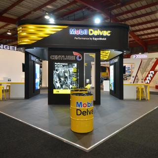 Mobil Delvac at Automechanika, 100sqm Custom Stand