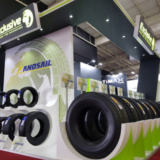 Exclusive Tyres at Tyrexpo Africa, 72sqm Custom Stand
