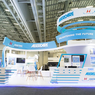 Aberdare Cables at AWU, 88sqm Custom Stand