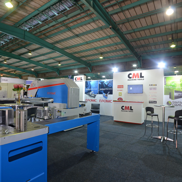 CMLMachine Tools at Electra Mining Africa  2018