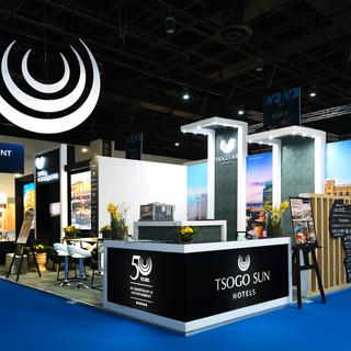 Tsogo Sun at Meetings Africa, 36sqm Custom Stand