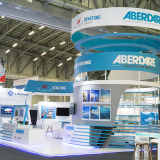Aberdare Cables at AUW, 88sqm Custom Stand
