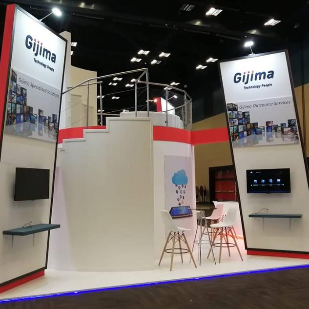 Gijima at The SITA Govtech, 42sqm Custom Stand
