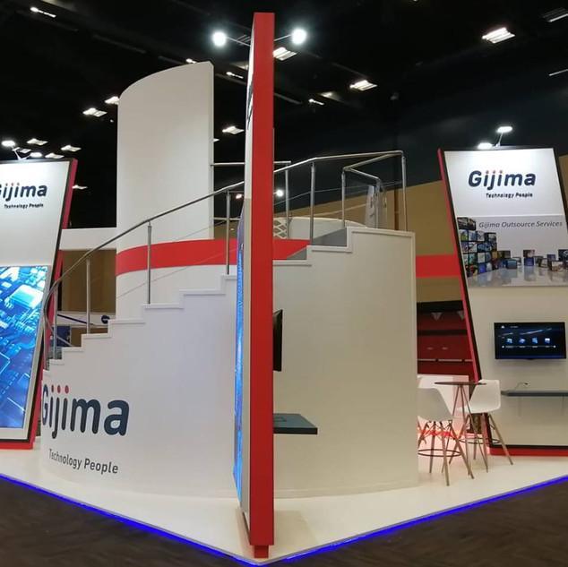 Gijima at The SITA Govtech, 42sqm Custom Stan s