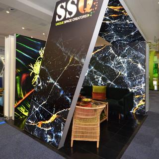 SSQ Design at EOE, 9sqm Fabric Stand