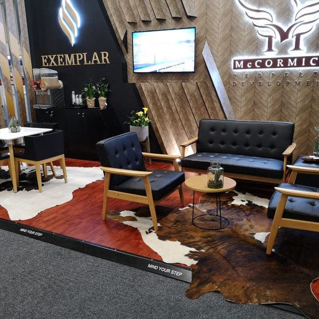 McCormick  / Exemplar at SACSC  18sqm Custom Stand