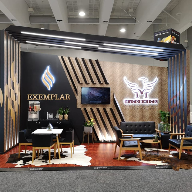 McCormick  / Exemplar at SACSC, 18sqm Custom Stand