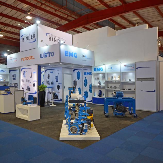 Magnet Service Binder at Electra Mining Africa 2018