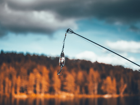 How to fish with a lure