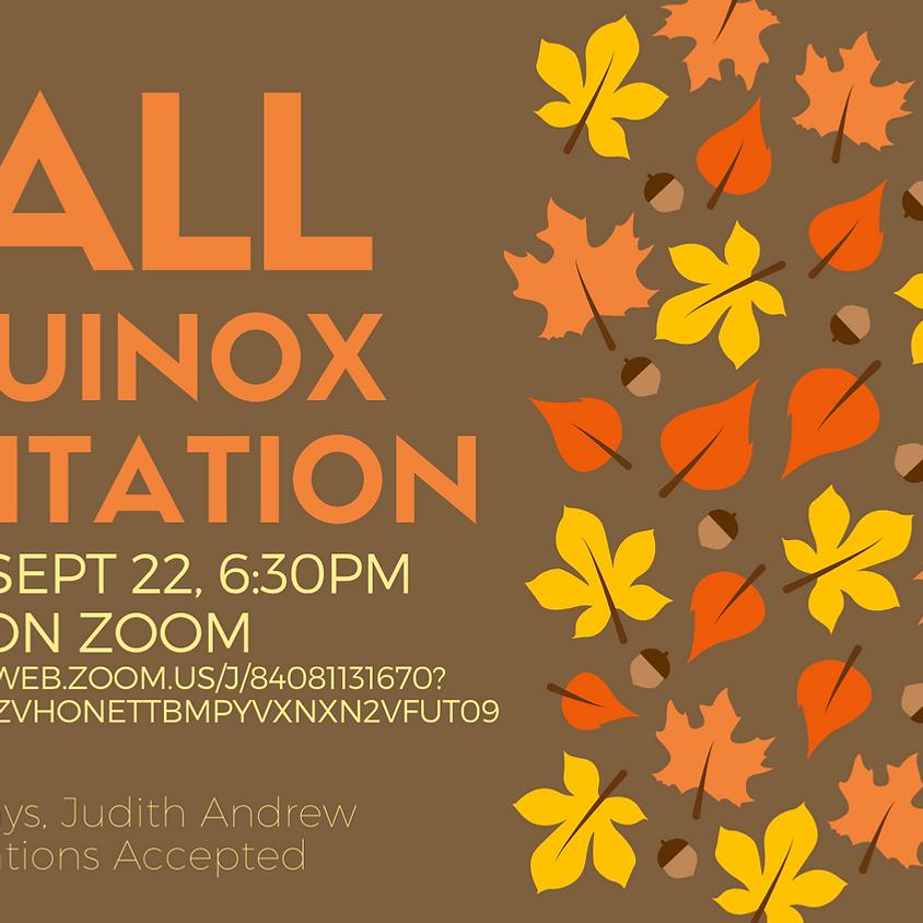 Sept 22, Fall Equinox Meditation