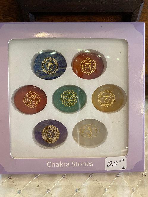 Chakra Stone/Symbol Set