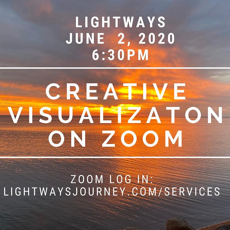 June 2, Creative Visualization on Zoom (1)