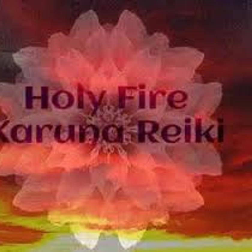Zoom Holy Fire, Karuna or Usui Reik Session