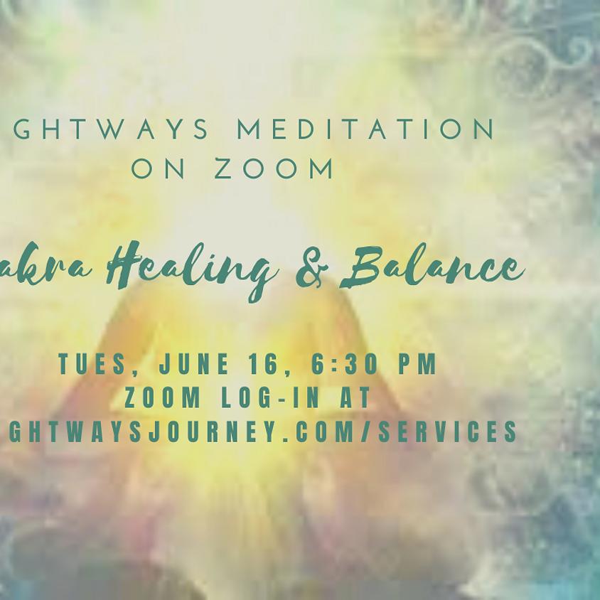 June 16, Chakra Healing & Balance