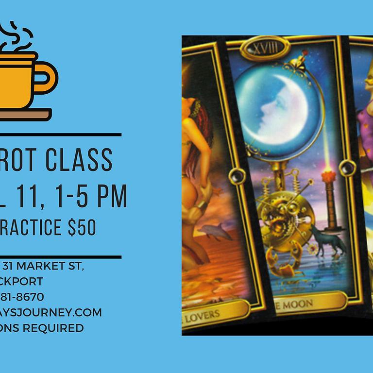 April 11, Tea & Tarot Class
