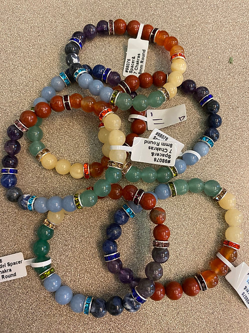 Chakra Bling Bracelets