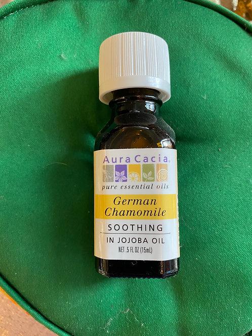 German Chamomile in Jojoba Oil