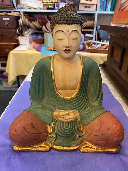 Dhyana Buddha, Palms Folded