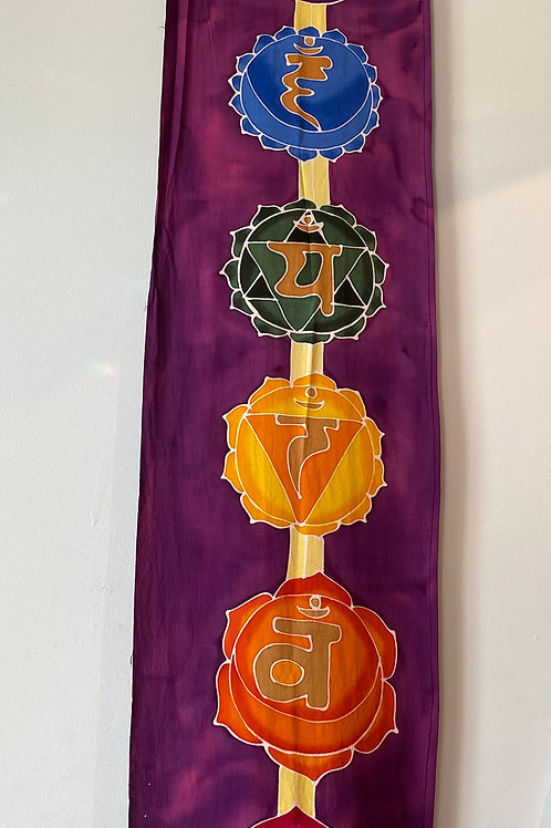 Chakra Banner, Purple