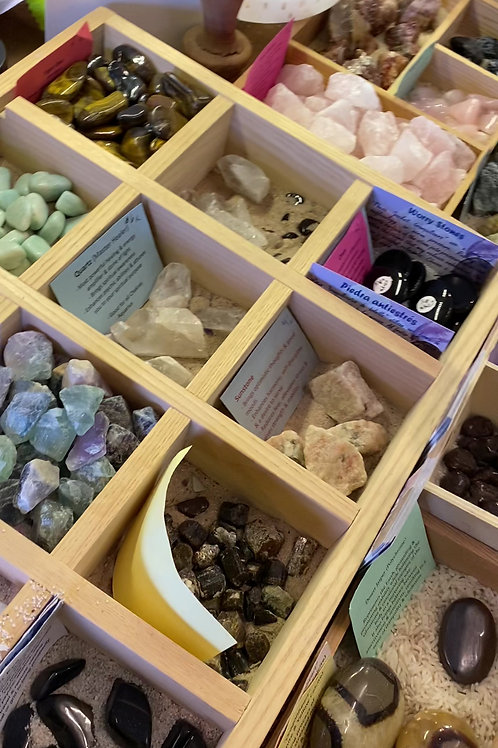 Video 3, Store Stones & Crystals