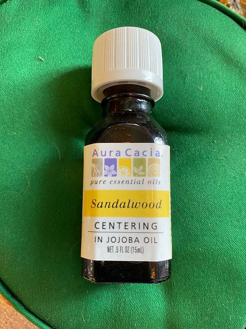 Sandalwood in Jojoba Oil