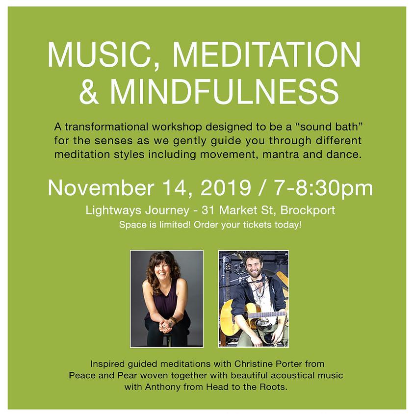 CANCELED Music, Meditation, & Mindfulness