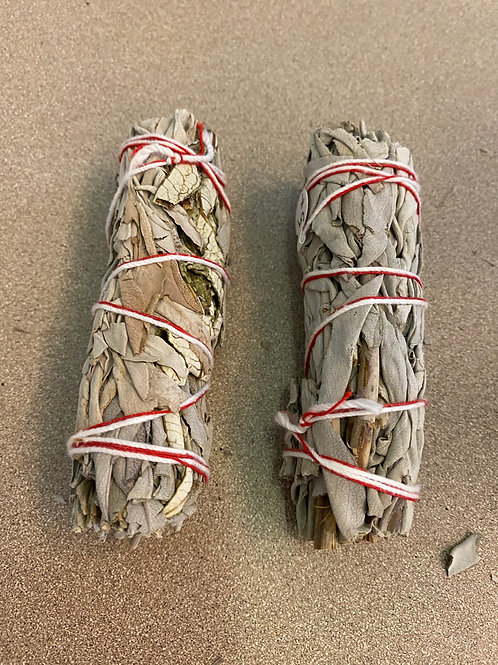 "4"" Sage Smudge Bundle"
