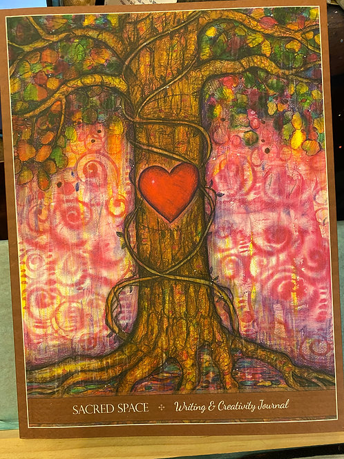 Sacred Space, Heart & Tree Journal