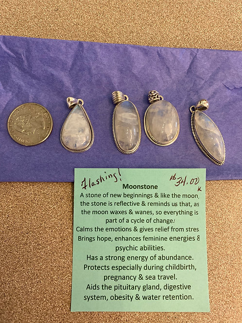 Moonstone Pendants