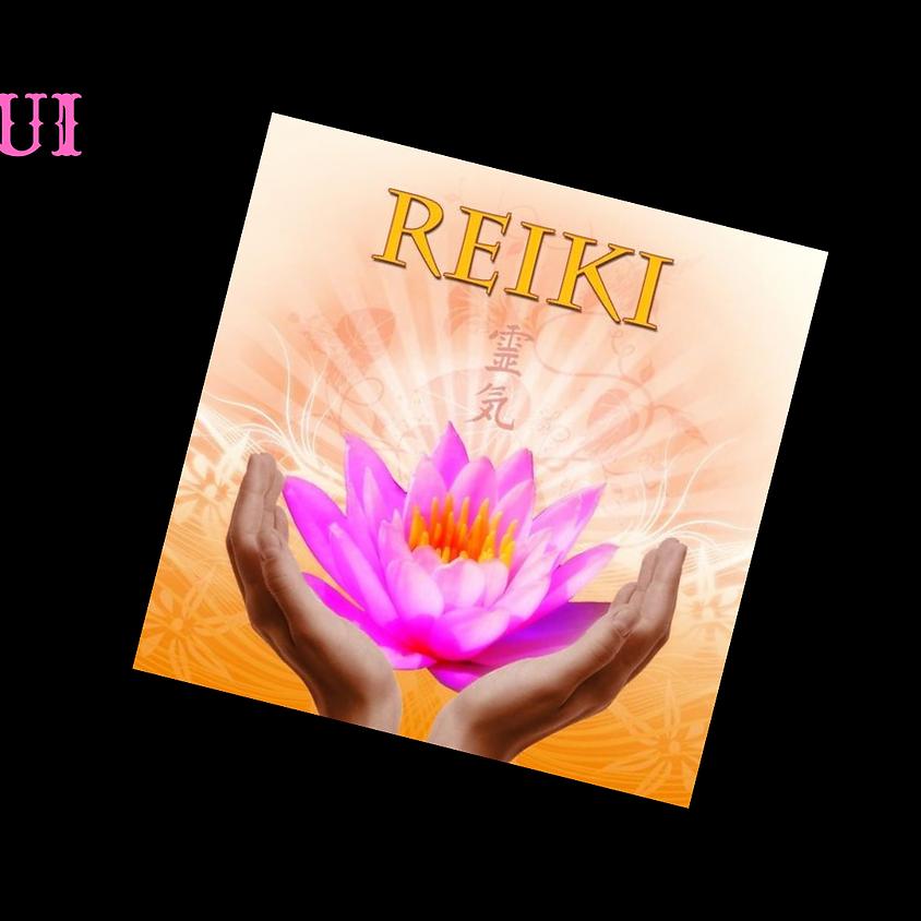 Jan 25, 26, Reiki I & II Training