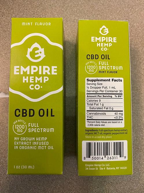 CBD 1200 MG Full Spectrum Oil