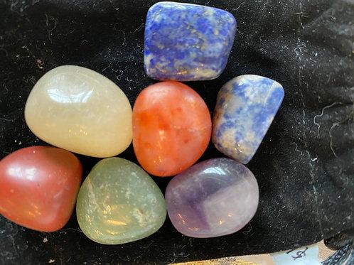 Chakra Stones, Set