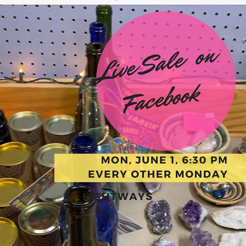 June 1, LIVE Sale on Facebook