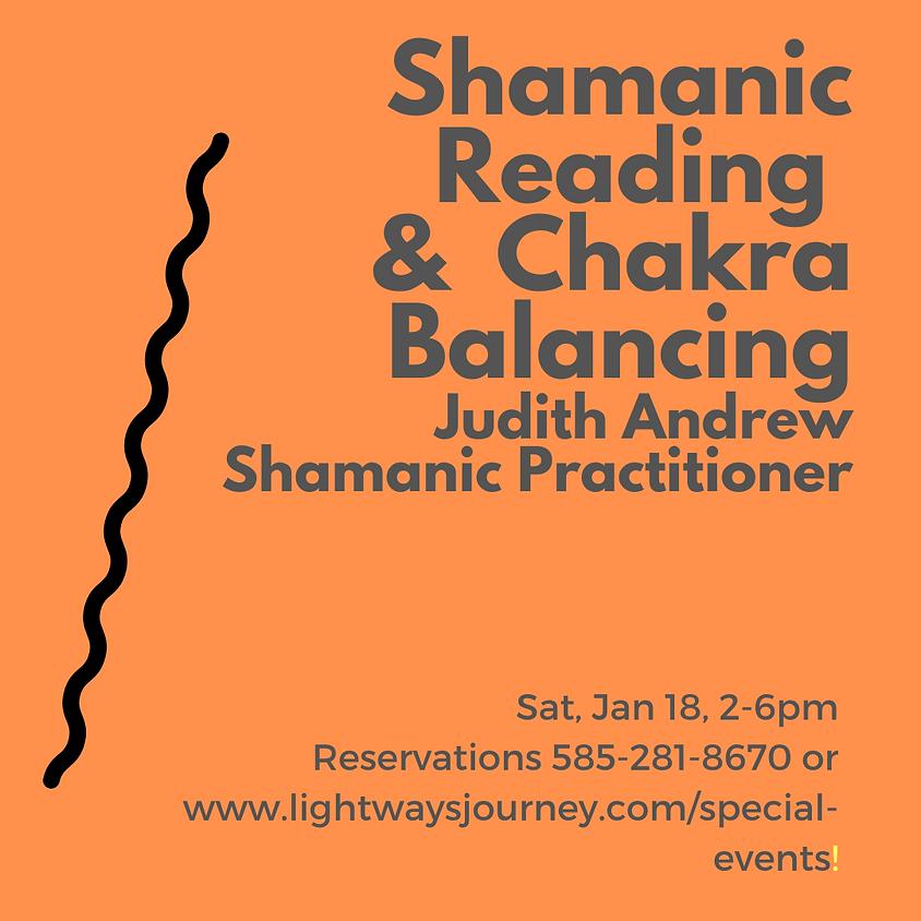 Jan 18, Shamanic Reading & Chakra Bal