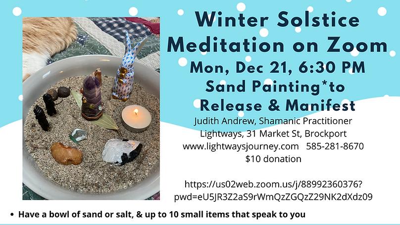 Winter Solstice Meditation Facebook Cove
